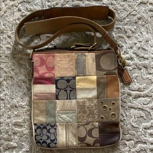Coach Bags - Authentic Coach Patterned Crossbody